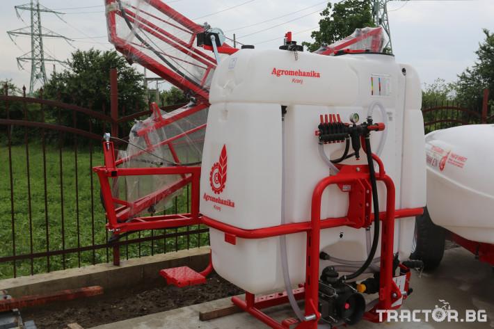 Пръскачки Навесна щангова пръскачка Agromehanika 1200 л. 2 - Трактор БГ