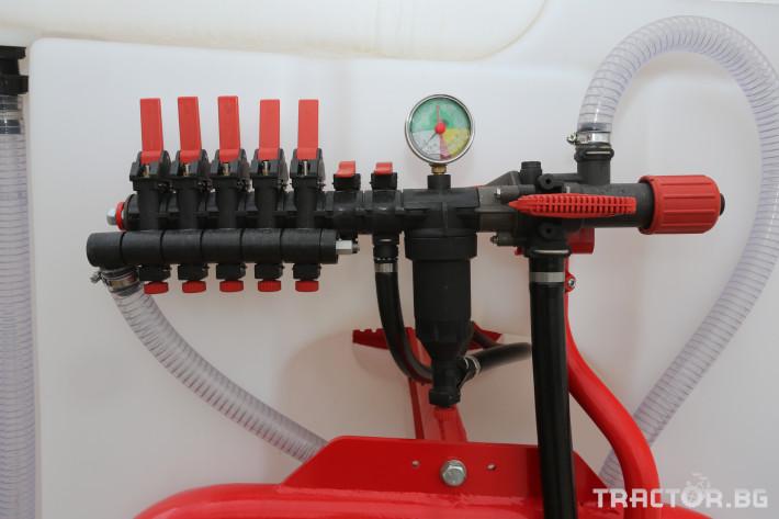 Пръскачки Навесна щангова пръскачка Agromehanika 1200 л. 4 - Трактор БГ