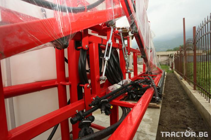 Пръскачки Навесна щангова пръскачка Agromehanika 1200 л. 5 - Трактор БГ