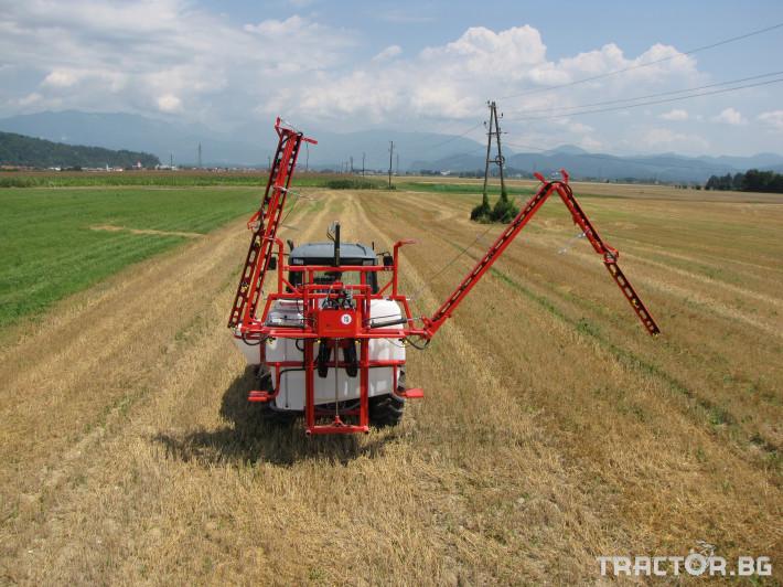 Пръскачки Навесна щангова пръскачка Agromehanika 1200 л. 0 - Трактор БГ
