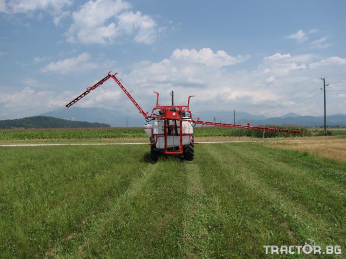 Пръскачки Навесна щангова пръскачка Agromehanika 1200 л. 1 - Трактор БГ