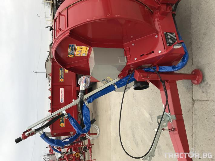 Ремаркета и цистерни Тороразхвърлящо ремарке MERLINI - за трайни насаждения 5 - Трактор БГ