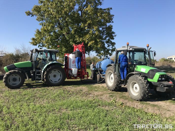 Пръскачки Пръскачка AGS 1200 EN-H + 18 MYH, Agromehanika 2 - Трактор БГ