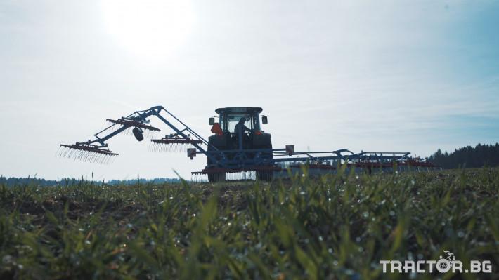 Машини за ферми Аератор за пасища/иглена брана 1 - Трактор БГ