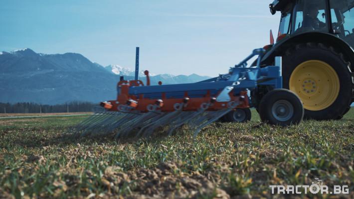 Машини за ферми Аератор за пасища/иглена брана 2 - Трактор БГ