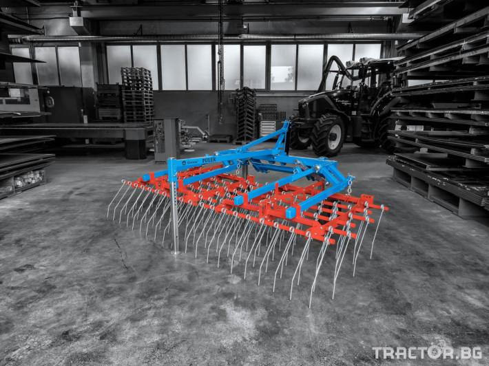 Машини за ферми Аератор за пасища/иглена брана 5 - Трактор БГ