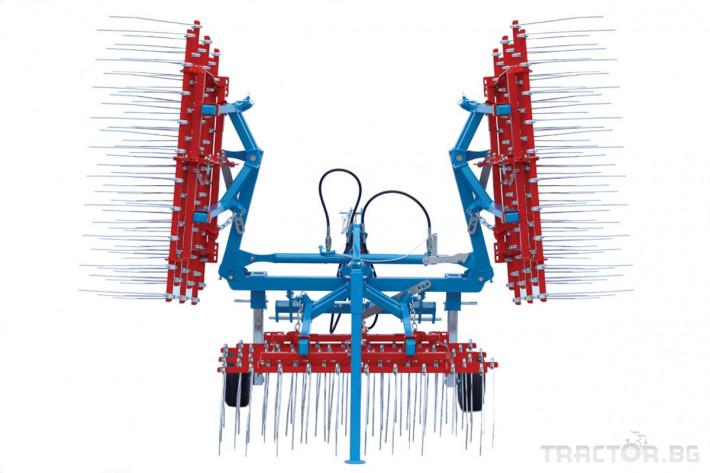 Машини за ферми Аератор за пасища/иглена брана 0 - Трактор БГ