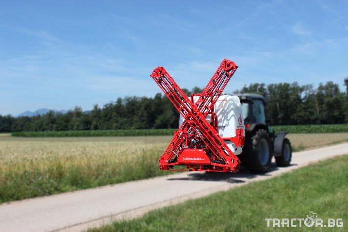 Пръскачки НОВО! Навесна пръскачка AGROMEHANIKA, Модел AGS 1200 EN + щанга 15 HLX 0 - Трактор БГ