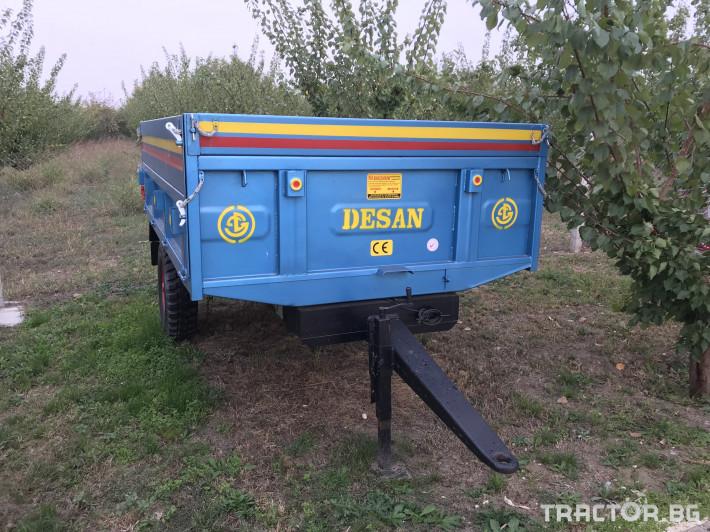 Ремаркета и цистерни Ремарке самосвално - 4 тона 0 - Трактор БГ