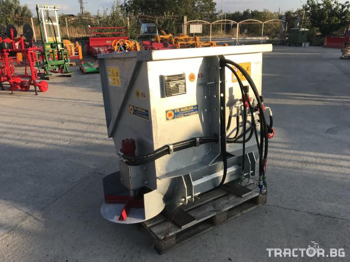 Машини за лозя / овошки Самонатоварващ разпръсквач на оборски тор и компост MERLINI (Italy) 1 - Трактор БГ