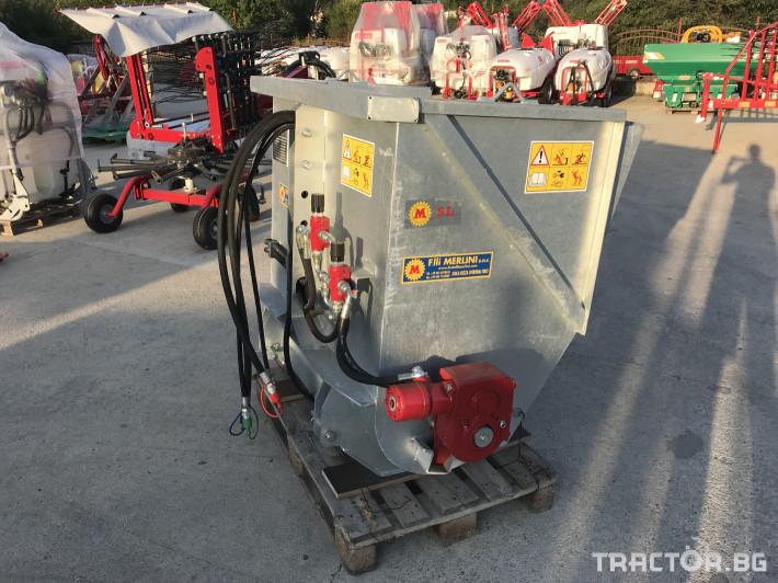 Машини за лозя / овошки Самонатоварващ разпръсквач на оборски тор и компост MERLINI (Italy) 3 - Трактор БГ