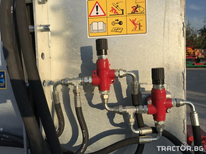 Машини за лозя / овошки Самонатоварващ разпръсквач на оборски тор и компост MERLINI (Italy) 4 - Трактор БГ