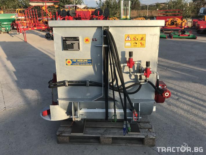 Машини за лозя / овошки Самонатоварващ разпръсквач на оборски тор и компост MERLINI (Italy) 5 - Трактор БГ