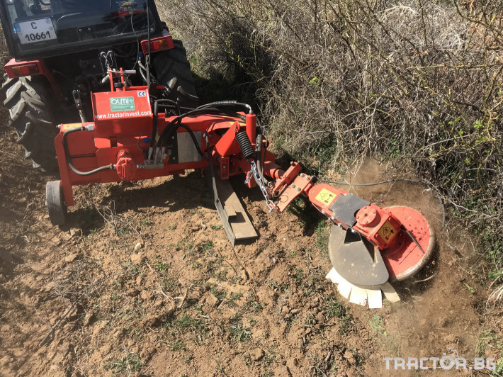 Машини за лозя / овошки Внос Машина за окопаване на рози и лозя - OLMI (Italy) 0 - Трактор БГ