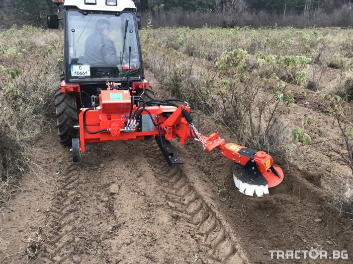 Машини за лозя / овошки Внос Машина за окопаване на рози и лозя - OLMI (Italy) 1 - Трактор БГ