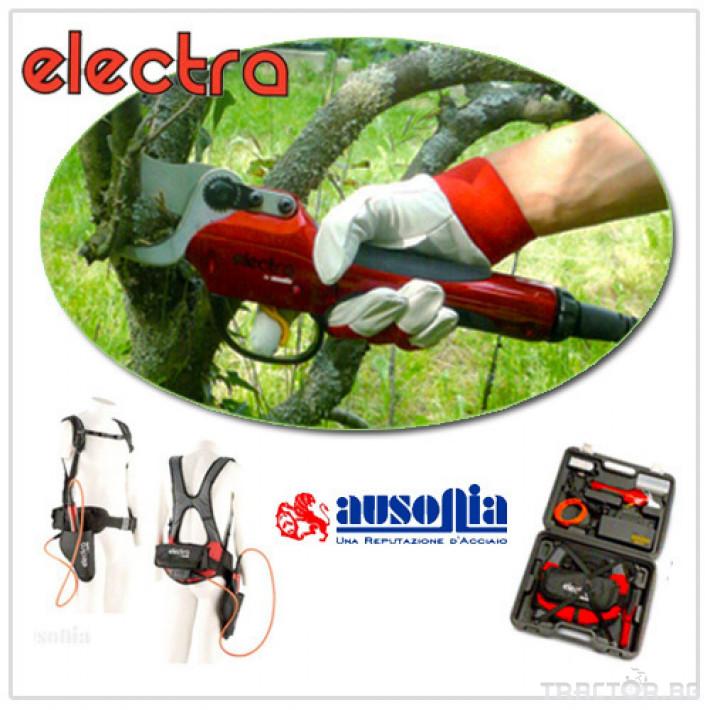 Машини за лозя / овошки Електрическа лозаро-овощарска ножица ELECTRA 1 - Трактор БГ