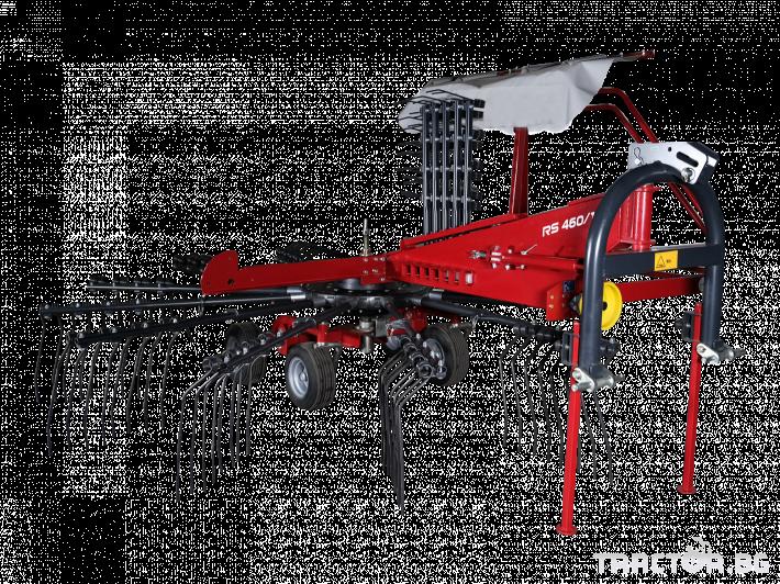 Сенообръщачки Agromehanika Ротационен сеносъбирач 4,10 метра с 4 колела 0 - Трактор БГ