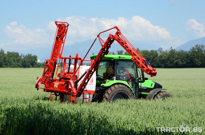 Пръскачки Agromehanika Пръскачка, модел AGS 1200 EN с 18 метра щанга 1 - Трактор БГ