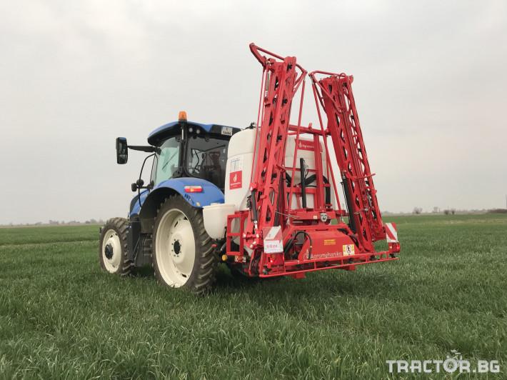Пръскачки Agromehanika Пръскачка, модел AGS 1200 EN с 18 метра щанга 10 - Трактор БГ