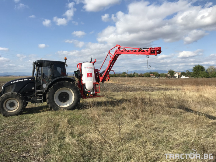 Пръскачки Agromehanika Пръскачка, модел AGS 1200 EN с 18 метра щанга 12 - Трактор БГ