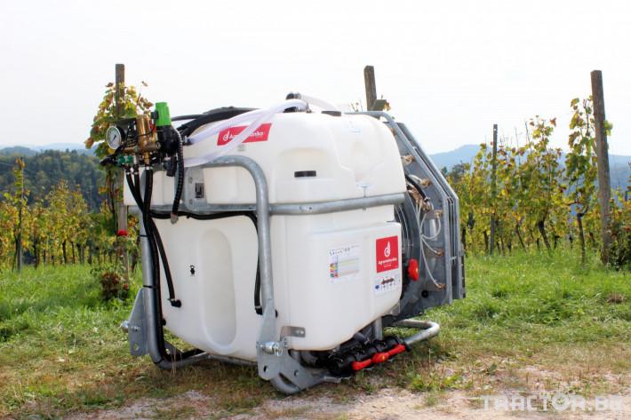 Пръскачки Agromehanika Навесна вентилаторна пръскачка AGP 600 PRO 2 - Трактор БГ