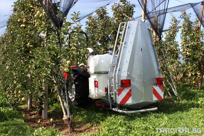 Пръскачки Agromehanika Навесна вентилаторна пръскачка AGP 600 PRO 3 - Трактор БГ
