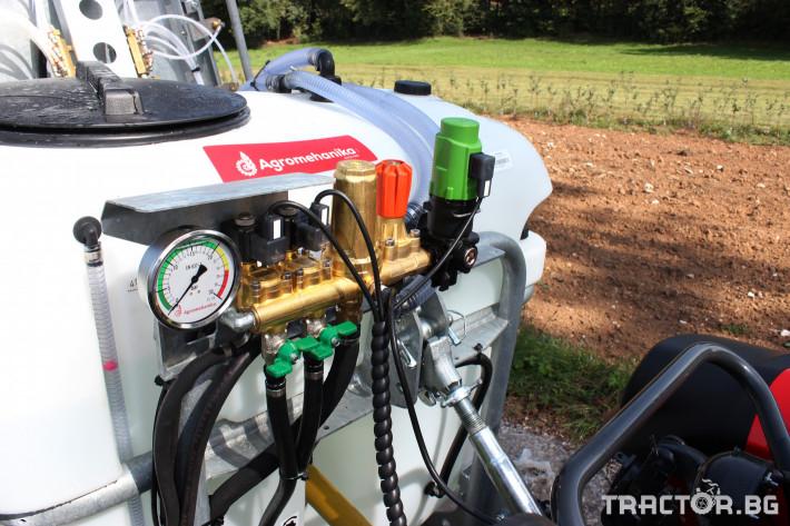 Пръскачки Agromehanika Навесна вентилаторна пръскачка AGP 600 PRO 4 - Трактор БГ