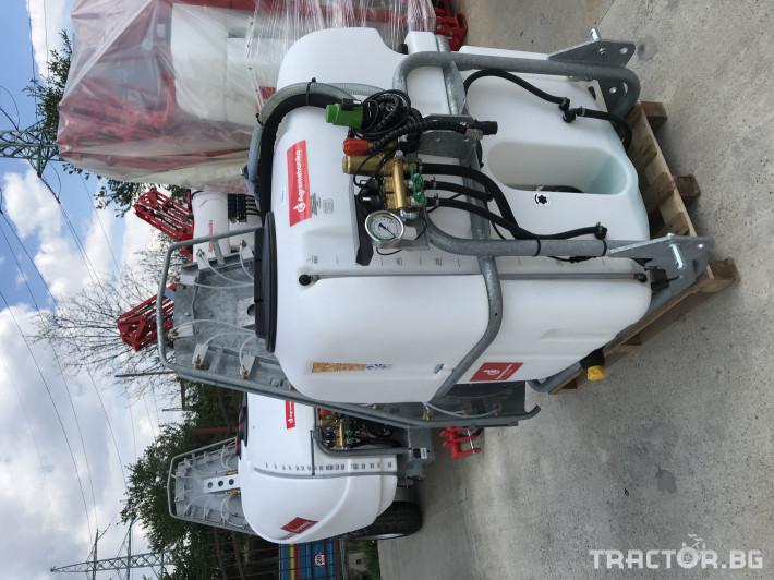 Пръскачки Agromehanika Навесна вентилаторна пръскачка AGP 600 PRO 6 - Трактор БГ