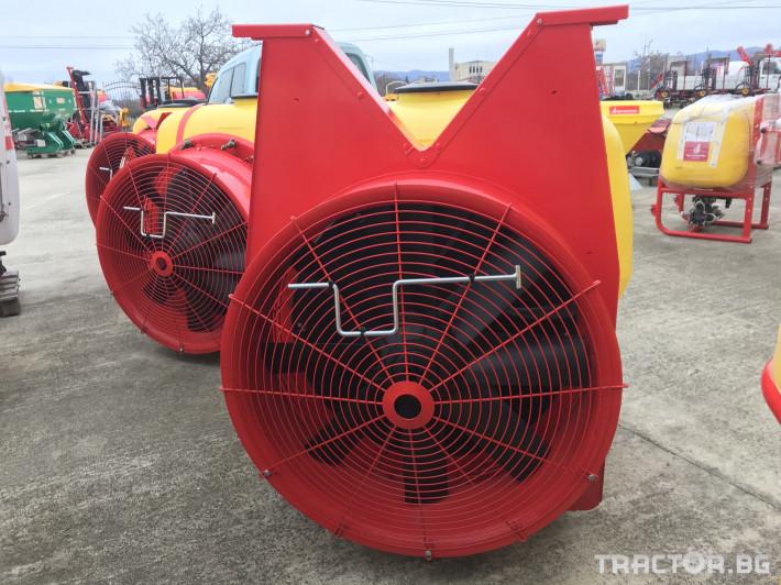 Пръскачки Agromehanika Вентилаторна пръскачка с дефлектор - AGP 440 U 3 - Трактор БГ