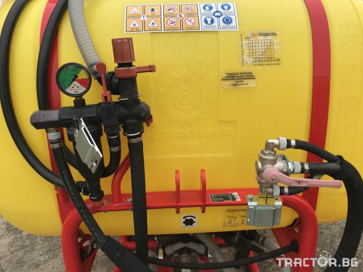 Пръскачки Agromehanika Вентилаторна пръскачка с дефлектор - AGP 440 U 5 - Трактор БГ