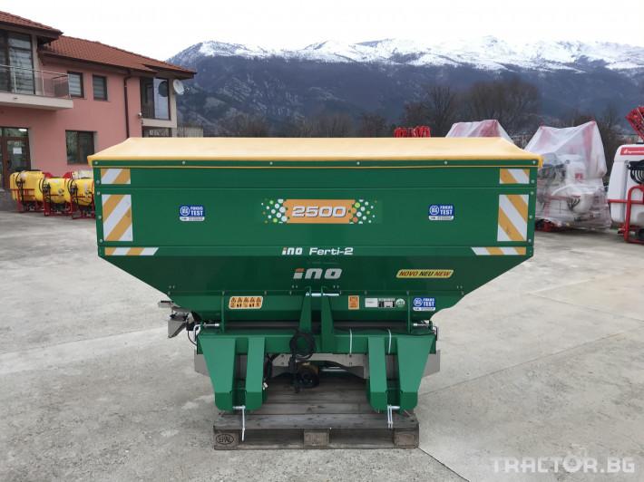 Торачки INO Торачка с КОМПЮТЪР FERTI - 2 2500 литра - (Словения) 1 - Трактор БГ
