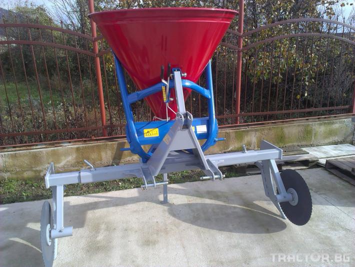 Торачки Торачка с продълбочител - 500 литра MEGAMETAL (Хърватска) 1 - Трактор БГ
