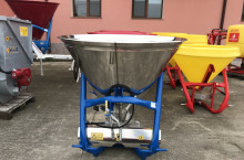 Торачка 500 литра - неръждаема с хидравлика