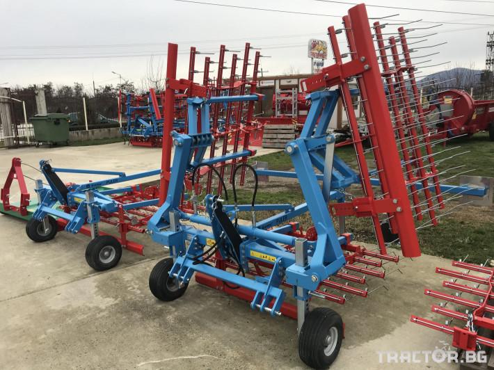 Машини за ферми Аератор за пасища/иглена брана 6 - Трактор БГ