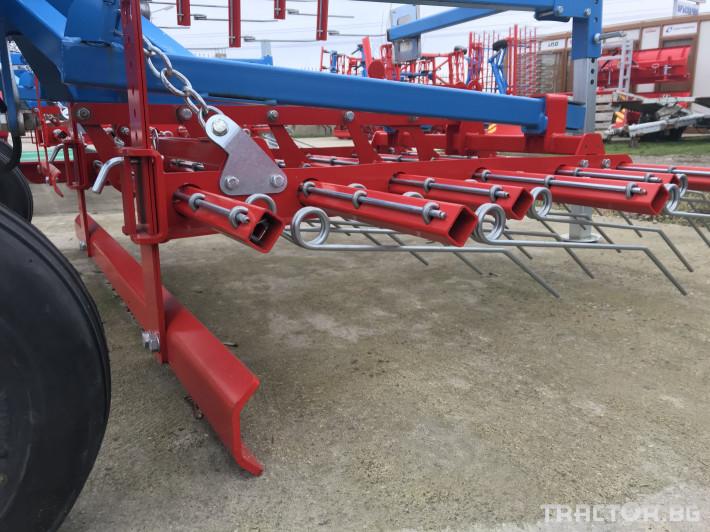 Машини за ферми Аератор за пасища/иглена брана 7 - Трактор БГ
